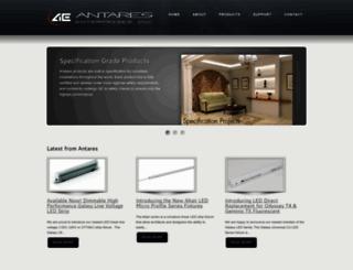 antareslighting.com screenshot