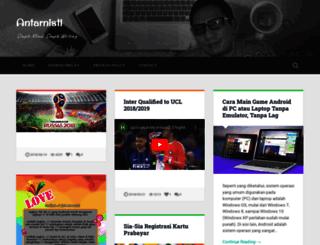 antarnisti.com screenshot