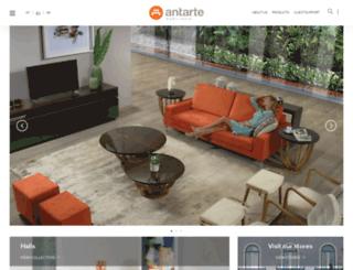 antarte.co.za screenshot