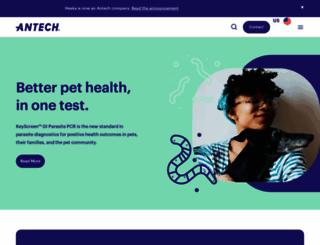 antechdiagnostics.com screenshot