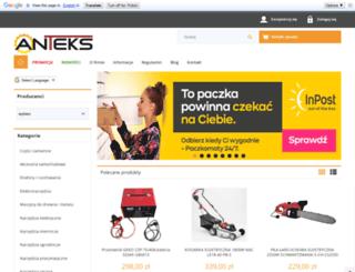 anteks.com.pl screenshot