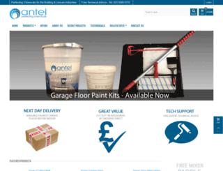 antel-uk.co.uk screenshot