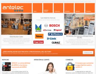 antelec.es screenshot