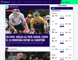 antena2.com.co screenshot
