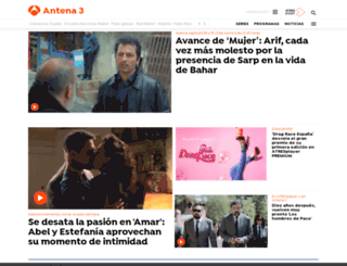 antena3.es screenshot