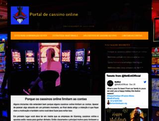antenacslogins.com.br screenshot