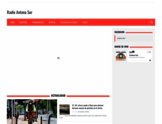 antenaperu.com screenshot
