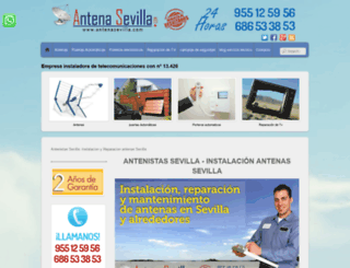 antenasevilla.com screenshot