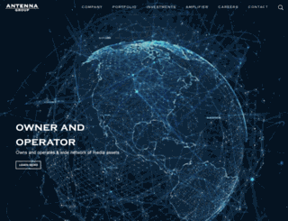 antenna-group.com screenshot