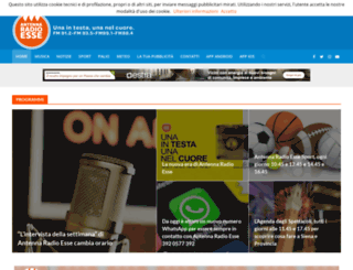 antennaradioesse.it screenshot