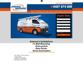 antennaspecialist.com.au screenshot