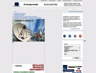 anteprotel.es screenshot