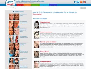 antesydespues.com.ar screenshot