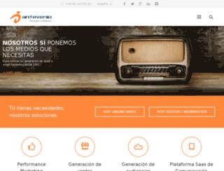 antevenioperformance.es screenshot