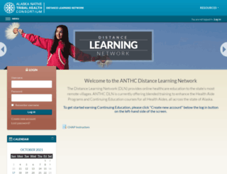 anthc.remote-learner.net screenshot