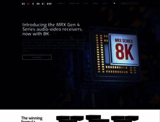 anthemav.com screenshot