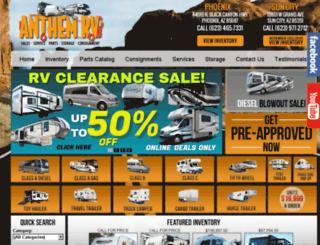 anthemrv.com screenshot