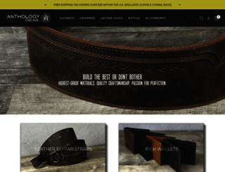 anthologygearwear.com screenshot