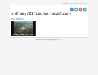 anthony2014course.libcast.com screenshot