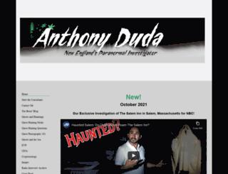 anthonyduda.com screenshot