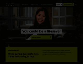anthonynolan.org screenshot