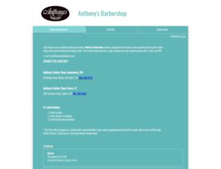 anthonysbarbershoplondonderry.acuityscheduling.com screenshot