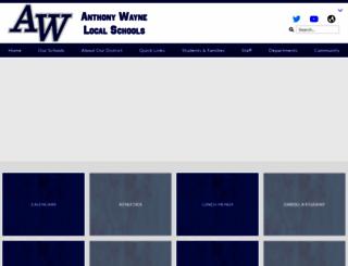 anthonywayneschools.org screenshot
