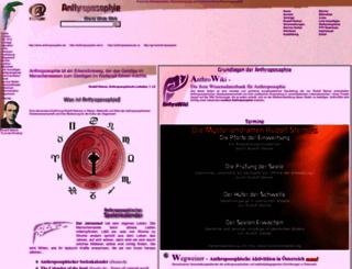 anthroposophie.net screenshot