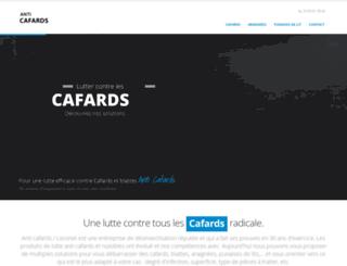 anti-cafard.com screenshot