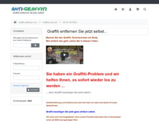anti-graffiti-shop.de screenshot