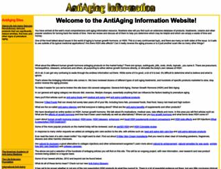 antiaginginfo.net screenshot