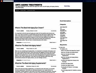 antiagingtreatments959.blogspot.com screenshot