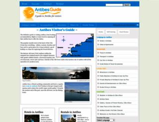 antibesguide.com screenshot