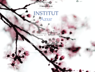 antibesinstitutazur.com screenshot