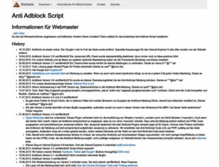 antiblock.org screenshot