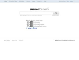 antibodyreview.com screenshot