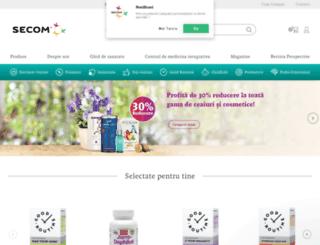 anticancer.ro screenshot