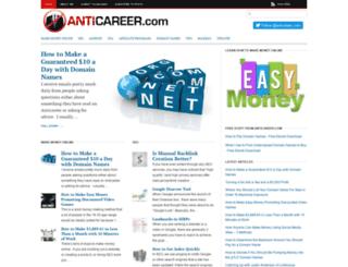anticareer.com screenshot