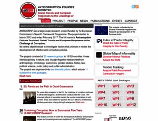 anticorrp.eu screenshot