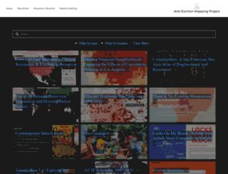 antievictionmap.squarespace.com screenshot