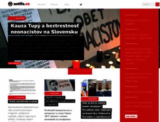antifa.cz screenshot