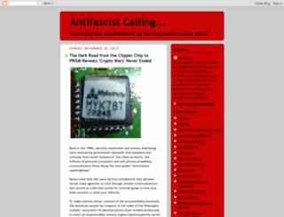 antifascist-calling.blogspot.com screenshot