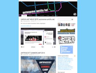 antifaw.blogsport.de screenshot