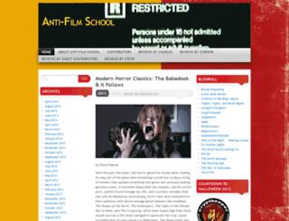 antifilmschoolsite.wordpress.com screenshot