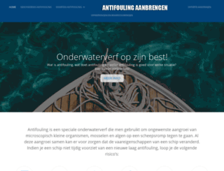 antifoulingaanbrengen.nl screenshot