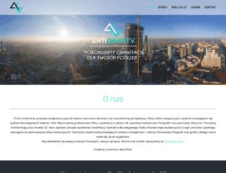 antigravity.com.pl screenshot