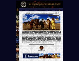 antiguosastronautas.com screenshot