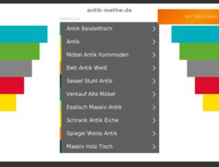 antik-methe.de screenshot