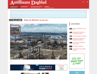antilliaansdagblad.com screenshot