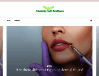 antioxidants-health-benefits.com screenshot